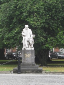 Statue of George Salmon, former Provost of Trinity College