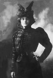 Maud Gonne as Cathleen Ni Houlihan