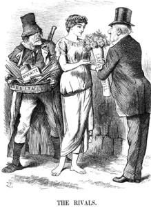 Anti-Land League Caricature, 1881